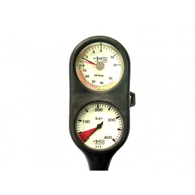 MDE Twin Combo Pressure And Depth Gauge